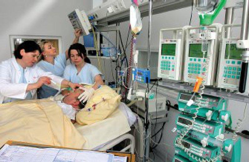 Telemedizin kann die hochwertige Behandlung in Stroke-Units nicht ersetzen. Foto: dpa