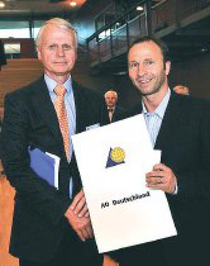 Hans-Jörg Oestern und Jan Korner (von links). Foto: AO Deutschland