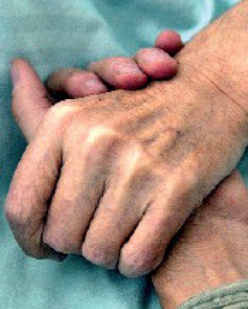 Gemeinsam für ein Sterben in Würde: Palliativmediziner, Hospizbewegung und Bundesärztekammer erarbeiten eine nationale Charta. Foto: ddp
