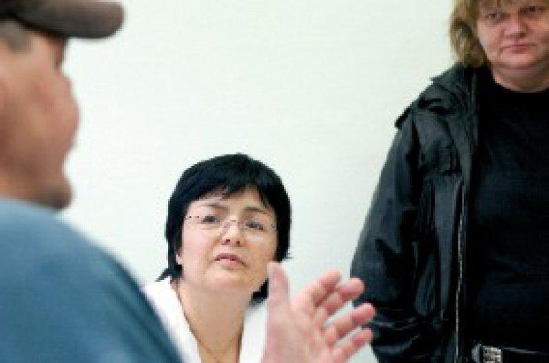 Einsatz für Obdachlose: Ärztin Jenny de la Torre Foto: ddp