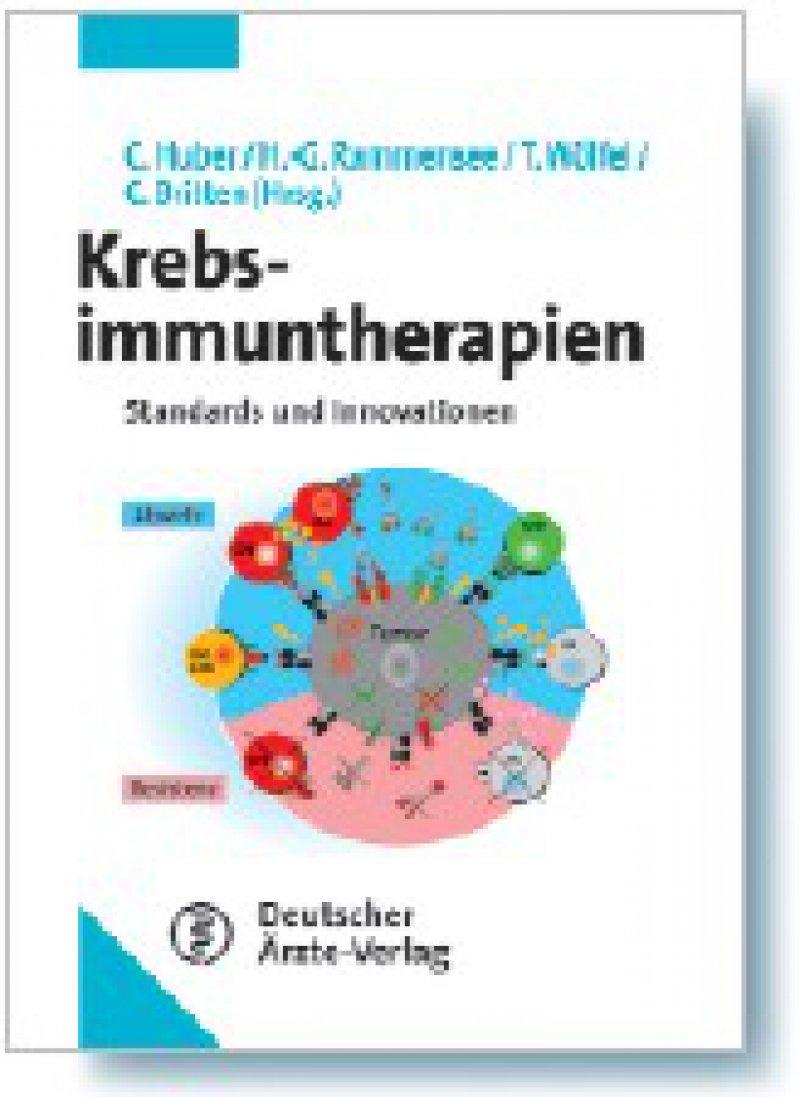 Christoph Huber, Hans-G. Rammensee, Thomas Wölfel, Cedrik M. Britten (Hrsg.): Krebsimmuntherapien. Standards und Innovationen. Deutscher Ärzte-Verlag, Köln, 2008, 284 Seiten, gebunden, 69,95 Euro
