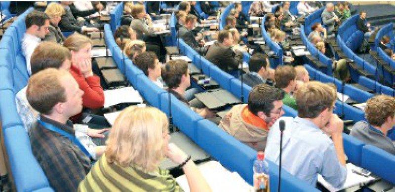 Kongress für Nachwuchsmediziner: Im vergangenen Jahr nahmen etwa 500 Studenten und Berufseinsteiger teil. Foto: Georg Lopata