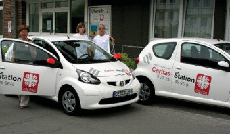 Mobile Betreuer: Mitarbeiter des häuslichen Hospizund Palliativdienstes der Caritasstation Lennestadt und Kirchhundem Foto: Caritasstation Lennestadt-Kirchhundem