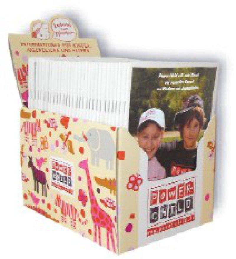 Infomaterial für das Wartezimmer gibt es kostenlos beim Verein Power- Child.