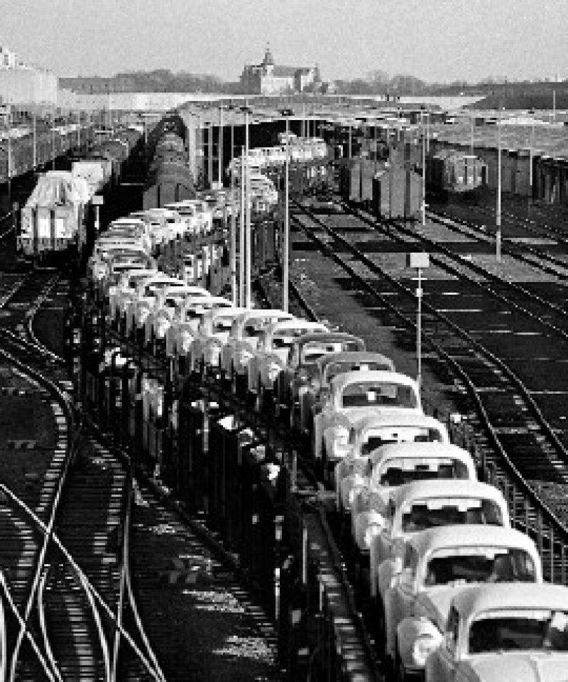 Wolfsburg, 1971 (Ausschnitt)