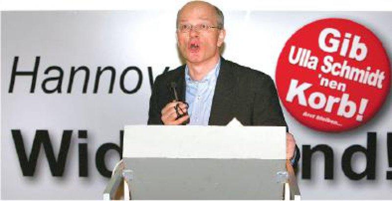 Hofft auf einen Dominoeffekt aus Bayern: Martin Grauduszus, Freie Ärzteschaft. Foto: Rainer Dröge