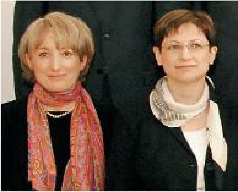 Elena Conti und Elisa Izaurralde (von links) Foto: privat
