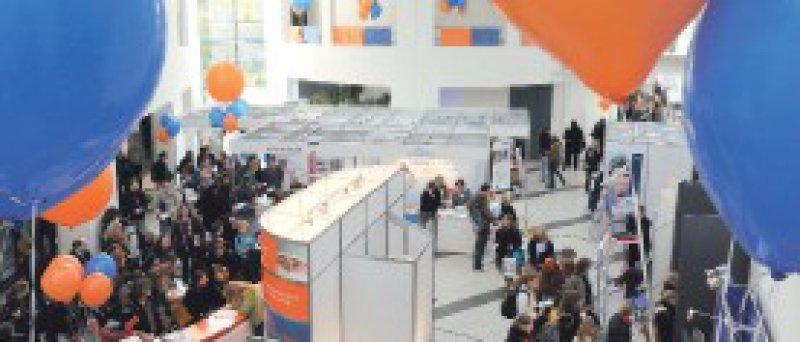 """Rund 1 300 Nachwuchsmediziner kamen zur Messe """"DocSteps"""" nach Berlin. Foto: MB"""