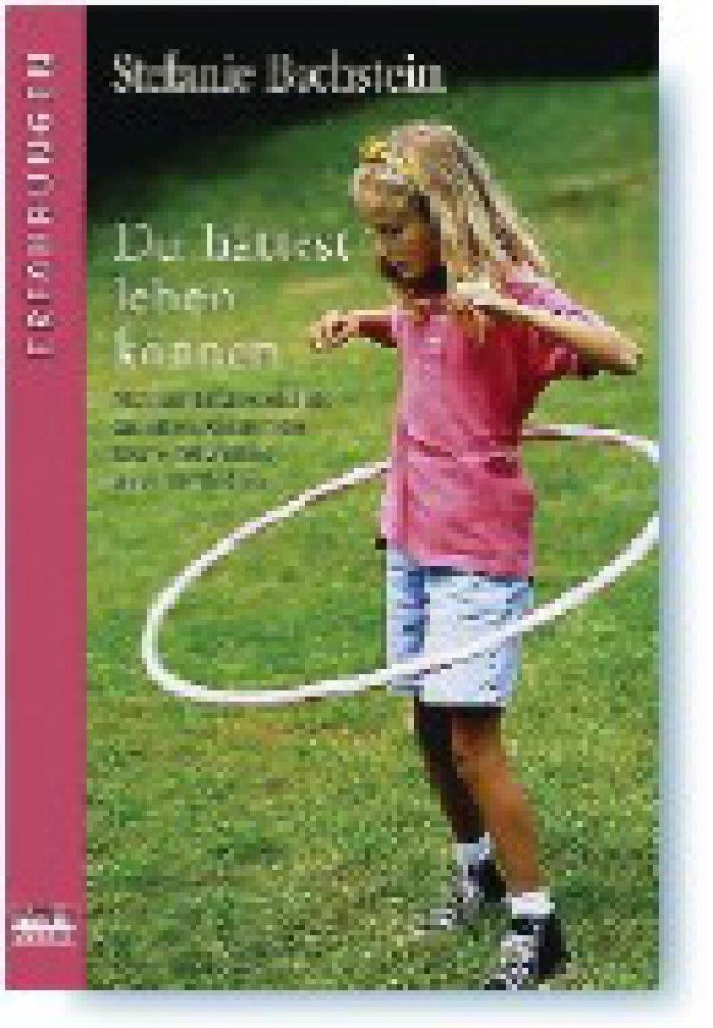 """*""""Du hättest leben können"""", das Buch von Stefanie Bachstein mit einem Vorwort von Prof. Dr. med. Thomas H. Loew, Universitätsklinikum Regensburg, wurde unter einem Pseudonym veröffentlicht. In dem authentischen Erfahrungsbericht wurden Namen, Daten, Ortsangaben und manchmal auch das Geschlecht verändert, um die zu schützen, deren Leben es betrifft. Im Rahmen des Publizistikpreises 2004 der Stiftung Gesundheit in Hamburg erhielt das Buch eine besondere Erwähnung, weil Frau Bachstein auf die Traumatisierung beider Seiten aufmerksam macht. Der Text ist in diesem Frühjahr in der Schweizerischen Ärztezeitung (SAEZ 2008; 89: 11) erschienen."""
