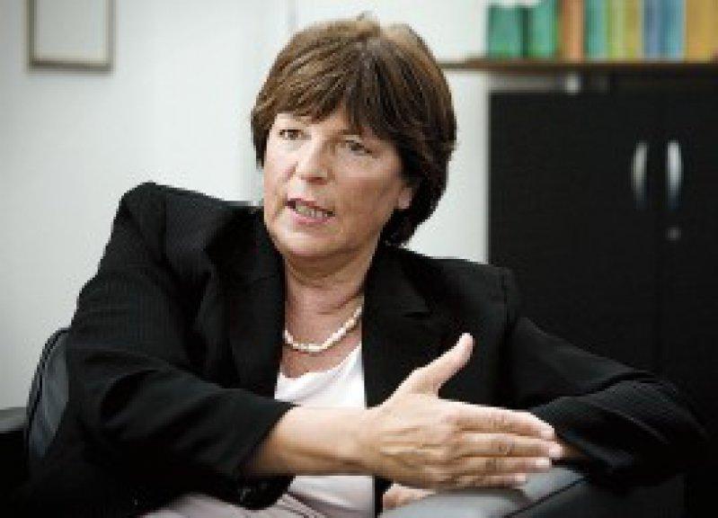 """""""Es wird keine Verlängerung der Anschubfinanzierung geben."""" Ulla Schmidt, Bundesgesundheitsministerin Foto: Caro"""
