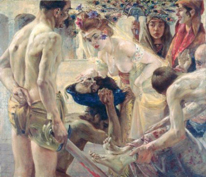 Lovis Corinth: Salome, II. Fassung, 1900 Foto: Museum der bildenden Künste, Leipzig