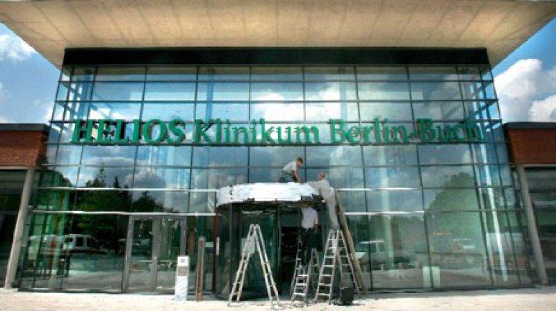 Nur aus Eigenmitteln finanzierte Helios den 200 Millionen Euro teuren Neubau des Klinikums Berlin-Buch. Bevor Helios das Klinikum 2001 übernahm, stand der Standort vor der Schließung. Foto: dpa