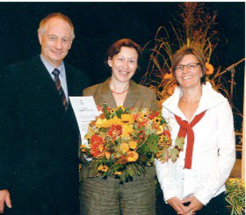 Albrecht Bufe, Doris Staab, Kerstin Kaniecki-Loop (von links) Foto: AKM Allergiekongress und Marketing GmbH
