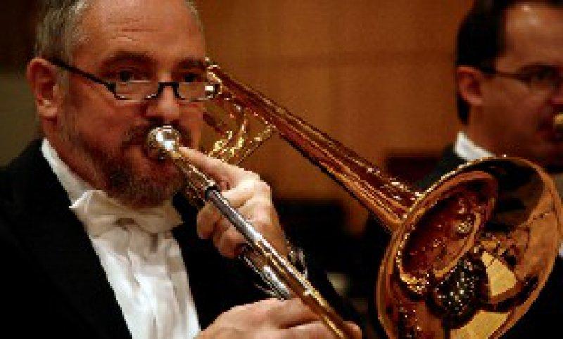 """""""Wer ein schweres Solo spielt, muss perfekt hören.""""Karlheinz Gottfried, Posaunist"""