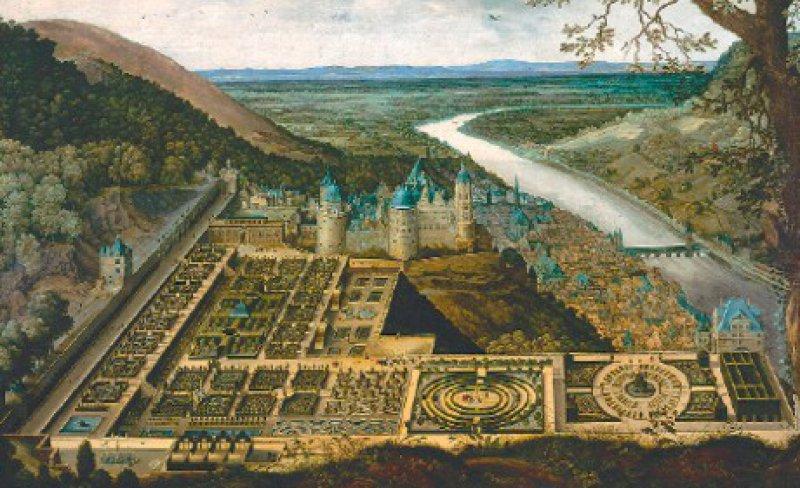 Hortus Palatinus: Würde der Schlossgarten als Renaissanceanlage wieder- hergestellt, wäre dies nur ein winziger Ausschnitt seiner Geschichte. Foto: Hortus Palatinus