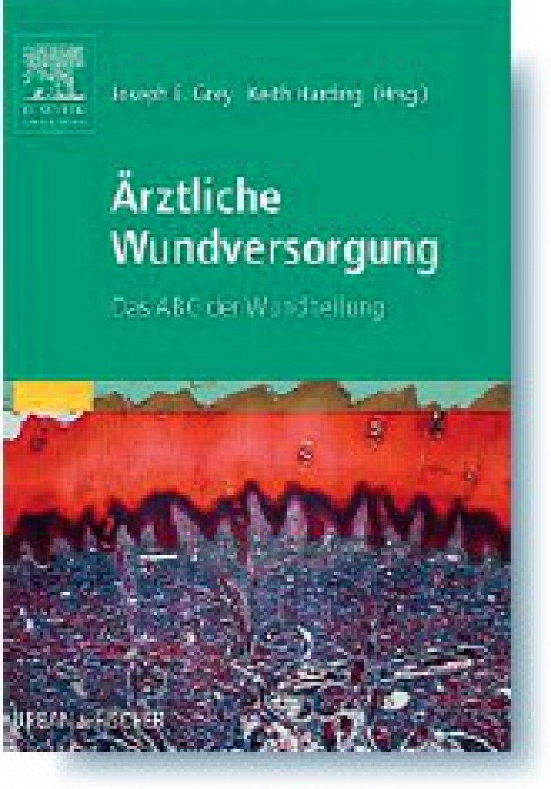 Joseph E. Grey, Keith Harding (Hrsg.): Ärztliche Wundversorgung. Das ABC der Wundheilung. Urban & Fischer, München 2008, 110 Seiten, kartoniert, 29,95 Euro