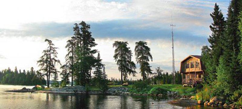 Mitten im Nirgendwo, Errington's Wilderness Lodge
