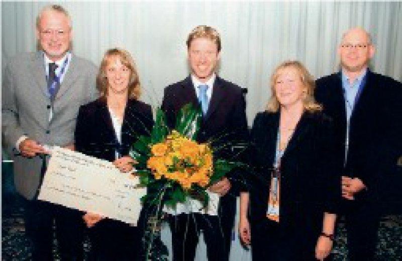 Wolfang Weidner, Ulrike Daub, Christian Gratzke, Katrin Venth und Andreas Meinhardt (von links) Foto: Bayer-Vital GmbH