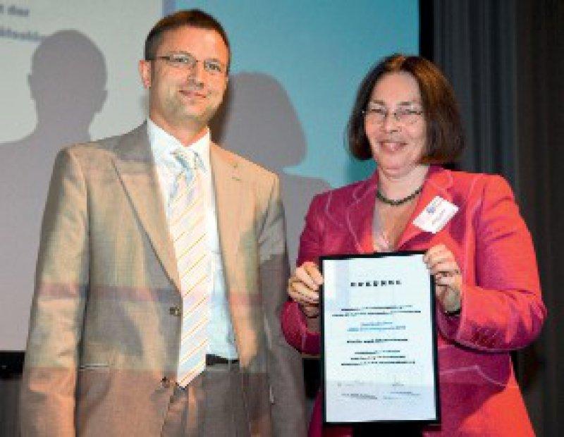 Wolfgang Retz und Johanna Krause Foto: Birte Kirschbaum, signum pr GmbH