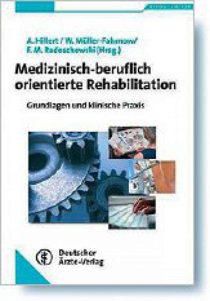 Andreas Hillert,Werner Müller-Fahrnow, Friedrich M. Radoschewski (Hrsg.): Medizinischberuflich orientierte Rehabilitation. Deutscher Ärzte-Verlag, Köln 2008, 423 Seiten, gebunden, 59,95 Euro