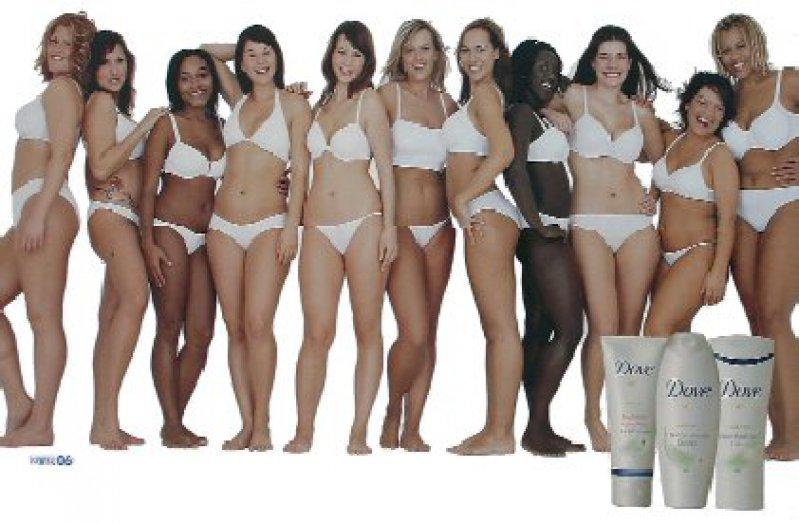 Breitseite:Für die Marke Dove werben rundere Frauen als üblich. Unilever unterstützt zudem Angebote des Frankfurter Zentrums für Essstörungen. Foto:picture-alliance/akg-images