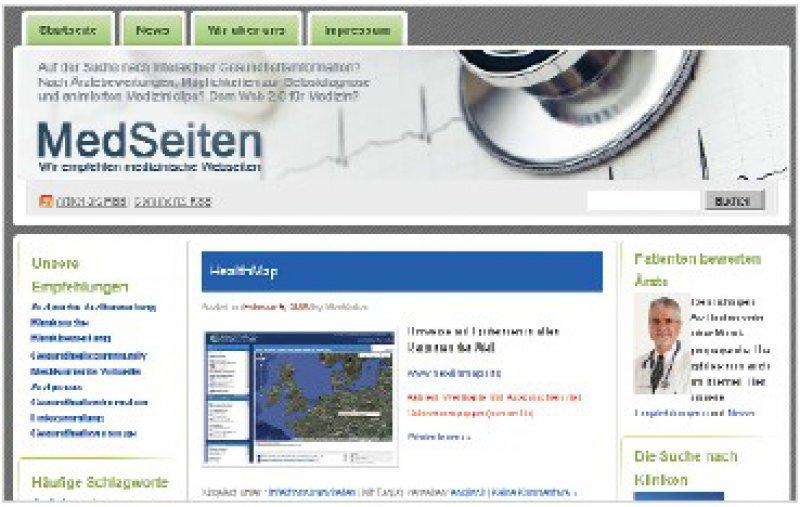 www.medseiten.de; Portal der Fachhochschule Hannover, das sich mit Bewertungsportalen und anderen Gesundheitsangeboten im Internet befasst