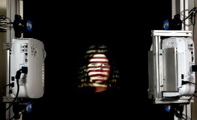 Die dreidimensionale Vermessung der Gesichtsoberfläche steht im Mittelpunkt des Forschungsprojekts an der Poliklinik für Zahnärztliche Prothetik und Werkstoffkunde des UKM.