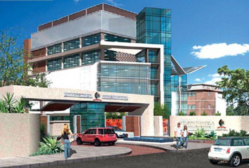 Mehr als eine Vision: Das KwaZulu- Natal-Forschungsinstitut soll auf dem Campus der medizinischen Fakultät in Durban entstehen (hier die Planungsansicht).