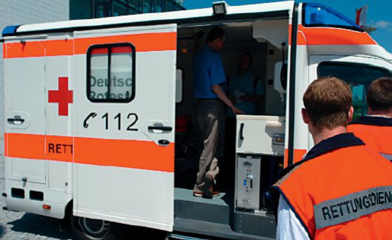 Die Spitzentechnik des Rettungswagens ist bei Notfalleinsätzen nicht immer erforderlich. Foto: Fraunhofer-IESE