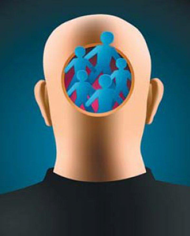 Bei schizophrenen Erkrankungen sind insbesondere Verfahren aus der kognitiven Verhaltenstherapie wirksam. Foto: iStockphoto