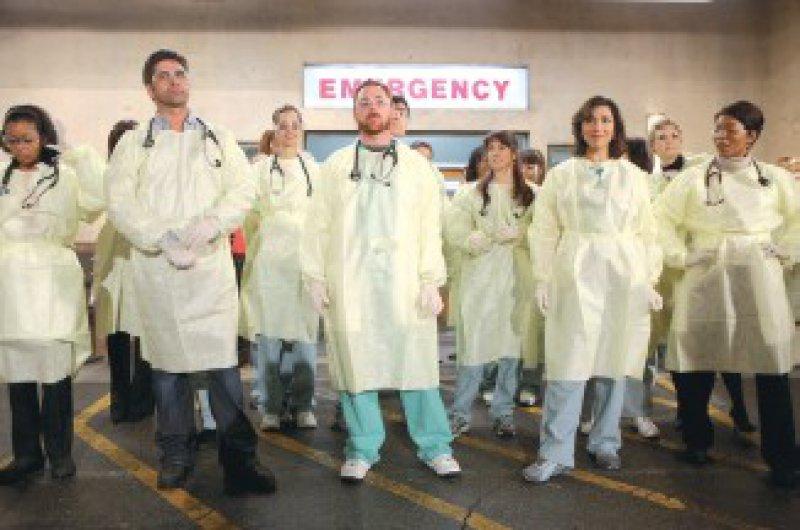 Das ER-Ärzteteam beendet seine Fernsehmission in der Notaufnahme – zum Leidwesen des treuen Publikums. Foto: Warner Bros. Television