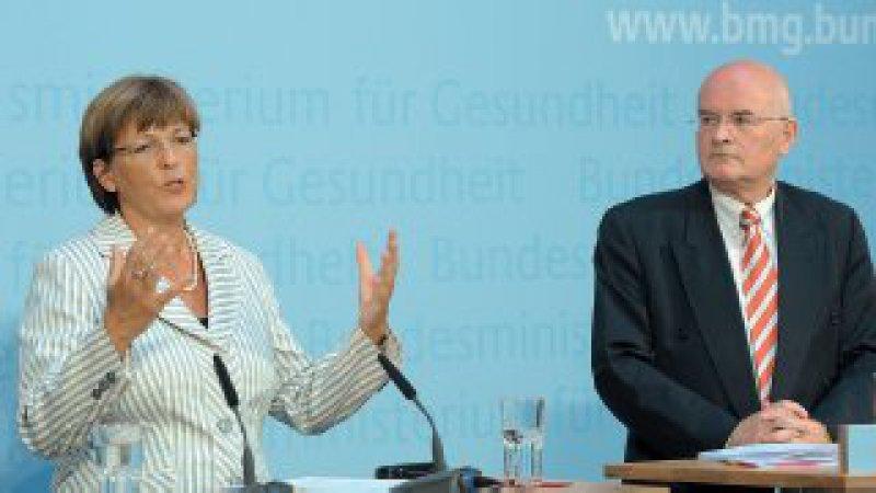 Einigung bei den Kosten: Ulla Schmidt und Karl-Dieter Voß. Foto: dpa