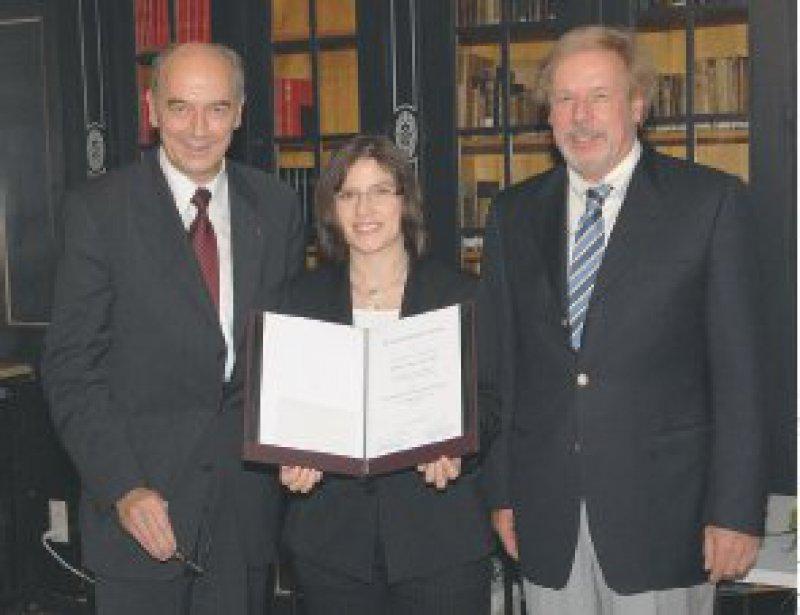 Alexander Freiherr von Hornstein, Anita Rauch, Klaus Friese (von links). Foto: Stephan Beissner, München