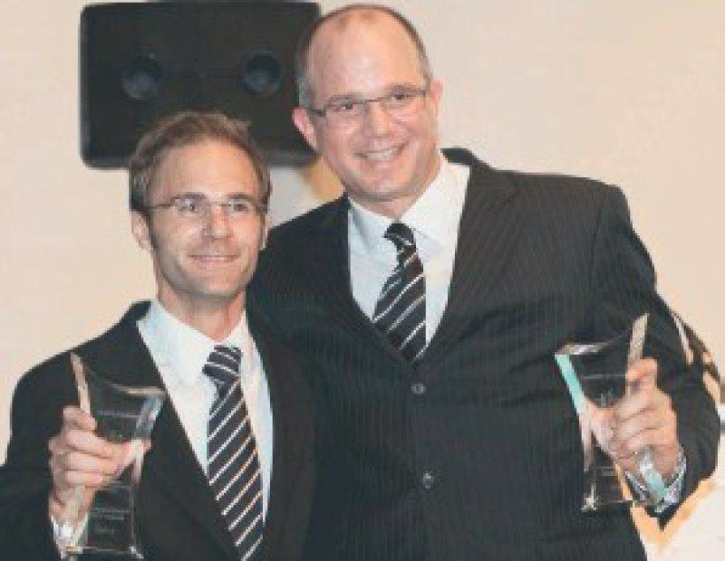 Andreas Karl-Rudolf Körber und Lars Steinsträßer Foto: privat