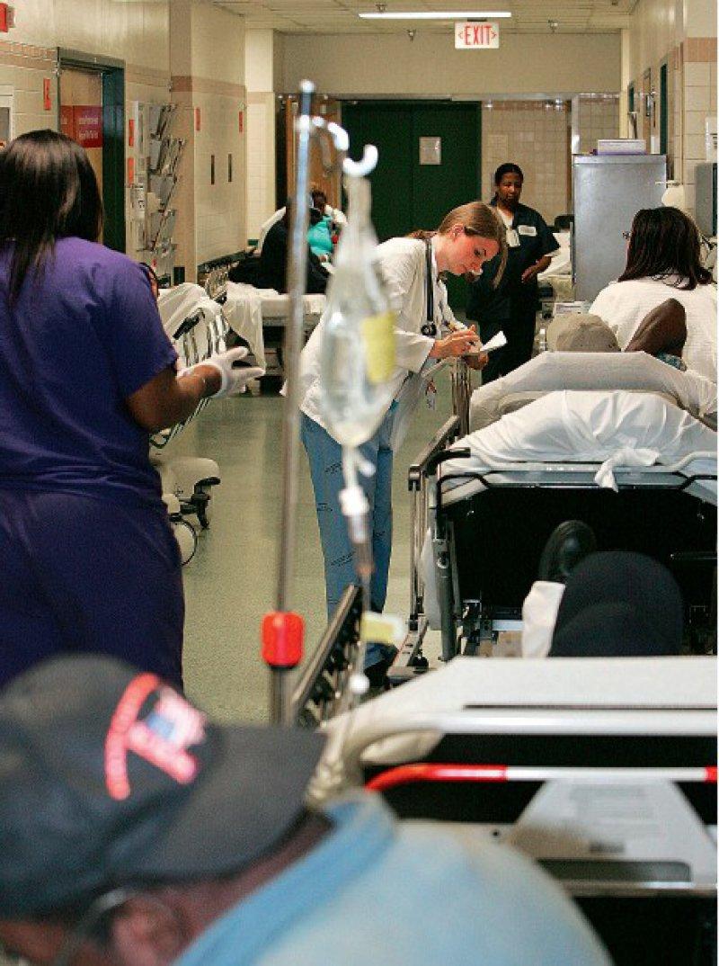 Der Emergency Room ist für Nichtkrankenversicherte die einzige Anlaufstelle.