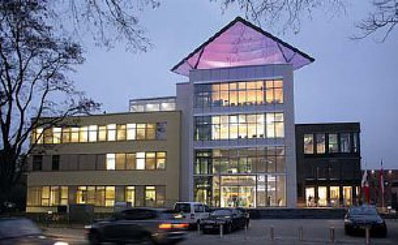 Außenansicht des inHaus-2-Gebäudes in Duisburg