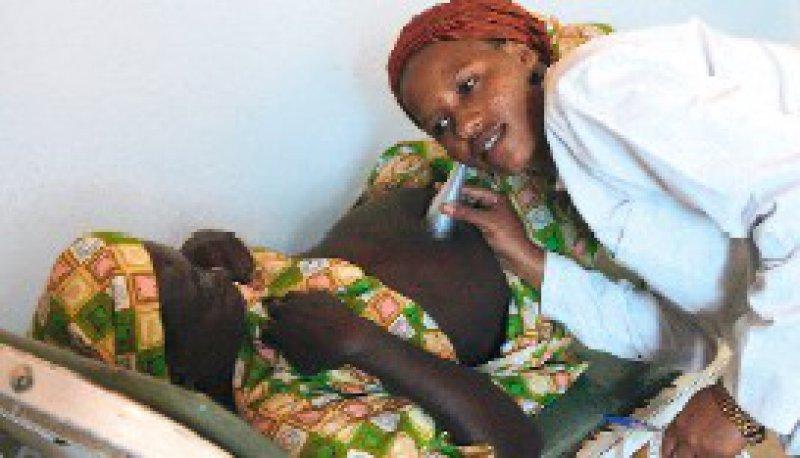 80 Prozent der Todesfälle wären vermeidbar, wenn Schwangere Zugang zu einer medizinischen Grundversorgung hätten. Foto: dpa