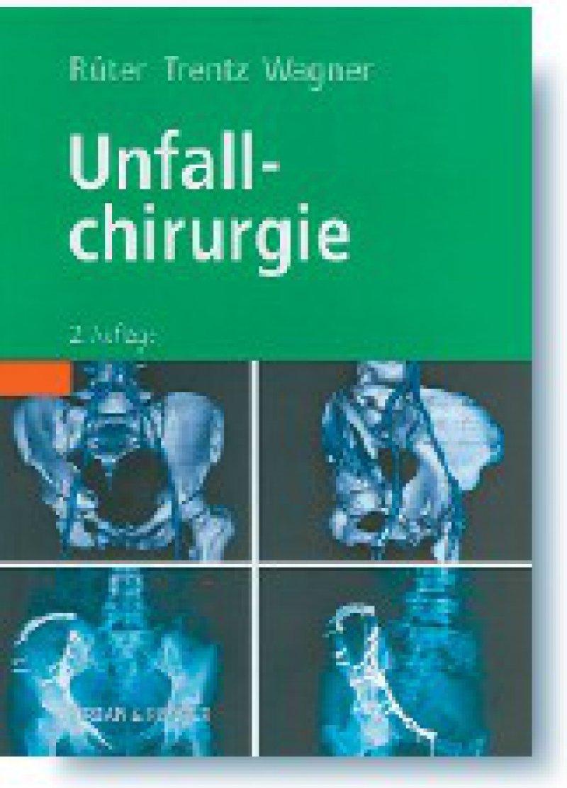 Axel Rüter, Otmar Trentz, Michael Wagner: Unfallchirurgie. Studienausgabe, 2. Auflage. Urban & Fischer, München 2008, 1328 Seiten, gebunden, 129 Euro
