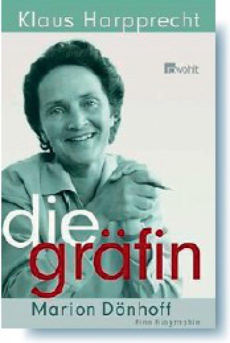 Klaus Harpprecht: Die Gräfin Marion Dönhoff. Eine Biographie. Rowohlt, Reinbek bei Hamburg 2008, 589 Seiten, gebunden, 24,90 Euro