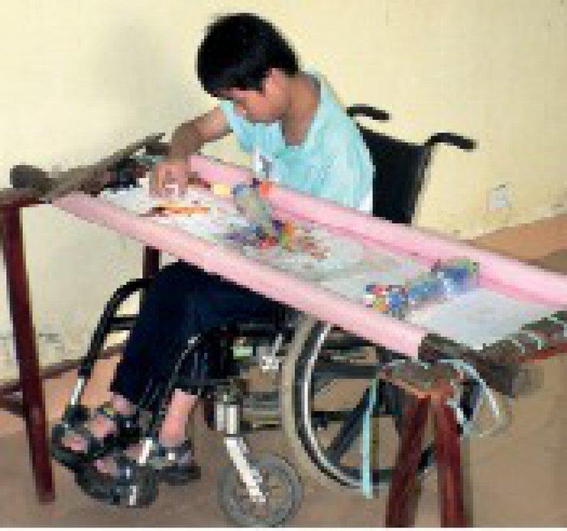 Das Dorf der Freundschaft hilft rund 120 behinderten Kindern auch medizinisch-therapeutisch. Foto: Martina Merten