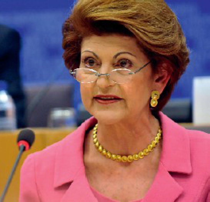 Streitbare Grande Dame: Androulla Vassiliou scheut die Auseinandersetzung mit den Mitgliedstaaten um gesundheitspolitische Kompetenzen nicht. Foto: Europäische Kommission