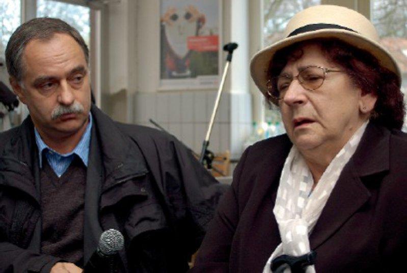 Während sie erzählt, erlebt Elzbieta Chylinska nach, was ihr in Auschwitz widerfuhr. Foto: privat