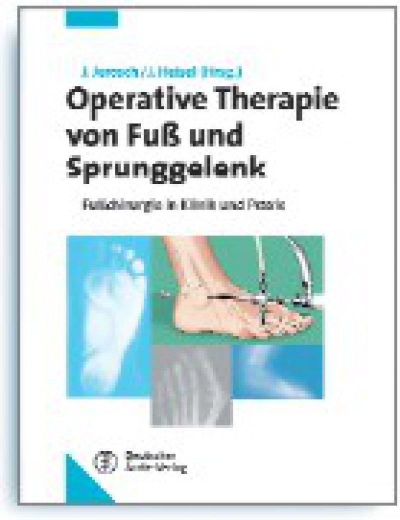 Jörg Jerosch, Jürgen Heisel (Hrsg.): Operative Therapie von Fuß- und Sprunggelenk. Fußchirurgie in Klinik und Praxis. Deutscher Ärzte-Verlag, Köln 2009, 432 Seiten, gebunden, 199 E