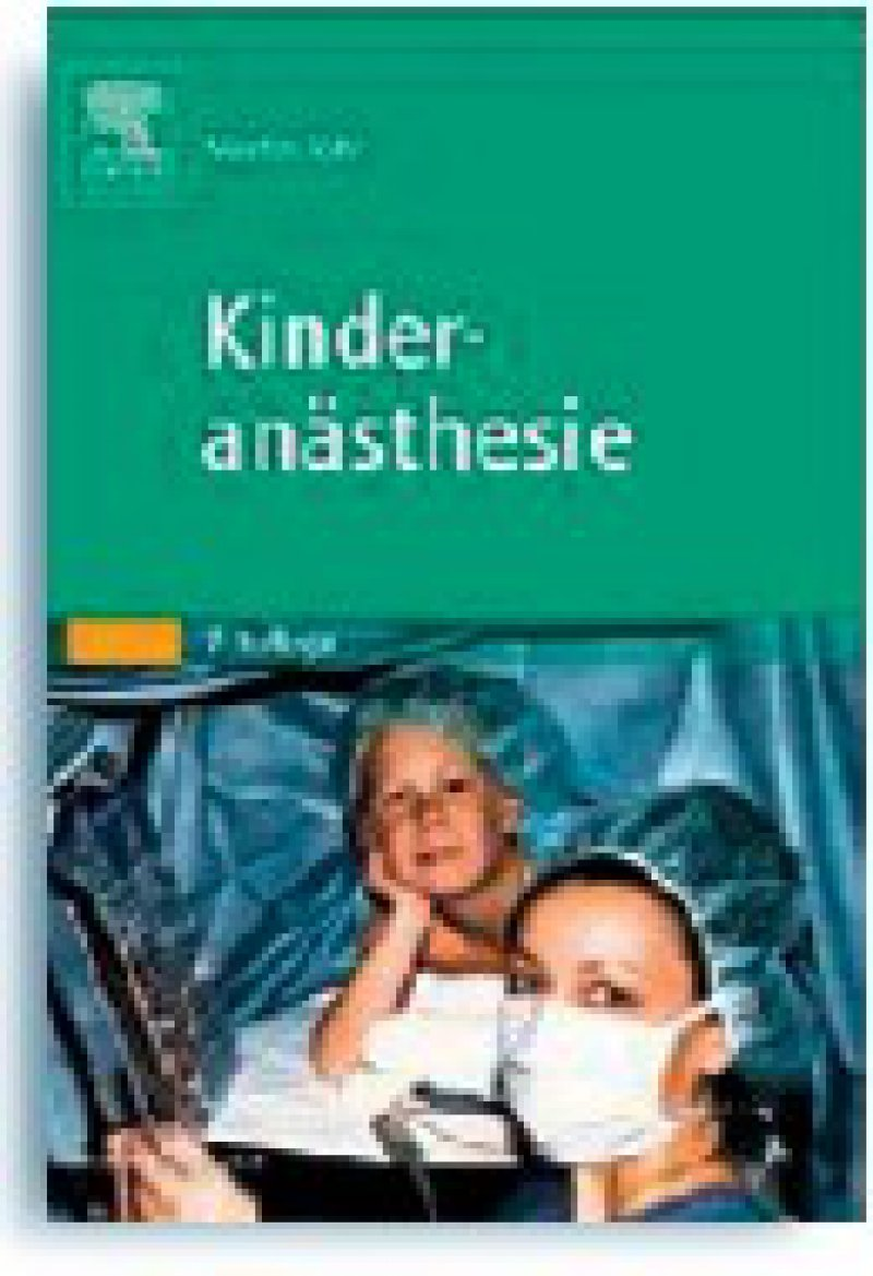 Martin Jöhr: Kinderanästhesie. 7. Auflage. Urban & Fischer, Elsevier GmbH, München 2009, 307 Seiten, kartoniert, 49,95 Euro