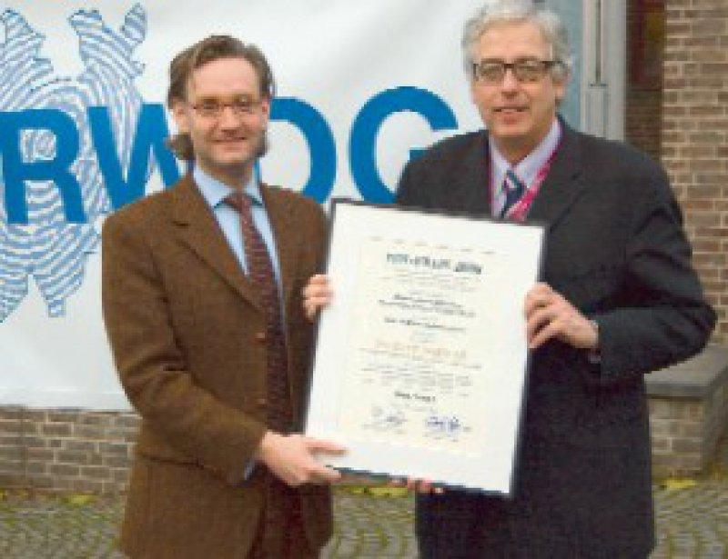 Philipp Babilas und Percy Lehmann (von links) Foto: UKR