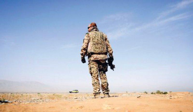 Hohe Dunkelziffer: Viele Soldaten bekennen sich nicht zu ihrer PTBS. Foto: ddp