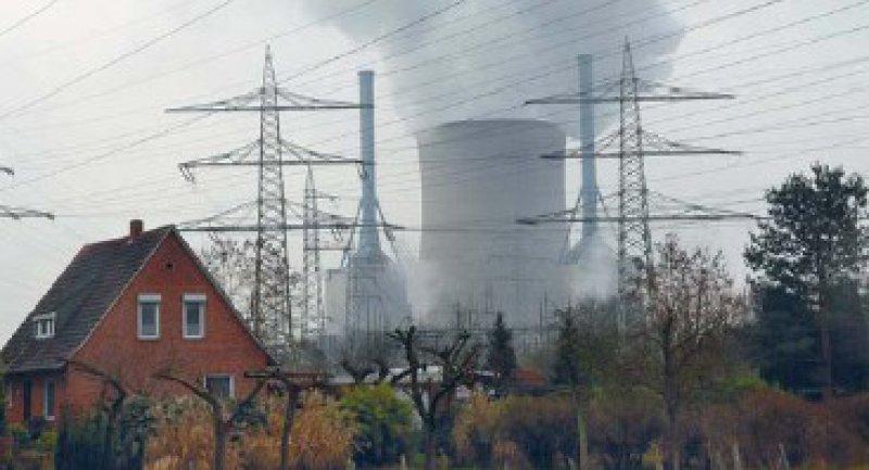Das Atomkraftwerk Grohnde, aufgenommen in EmmerthalFoto: Lennart Preiss/dd