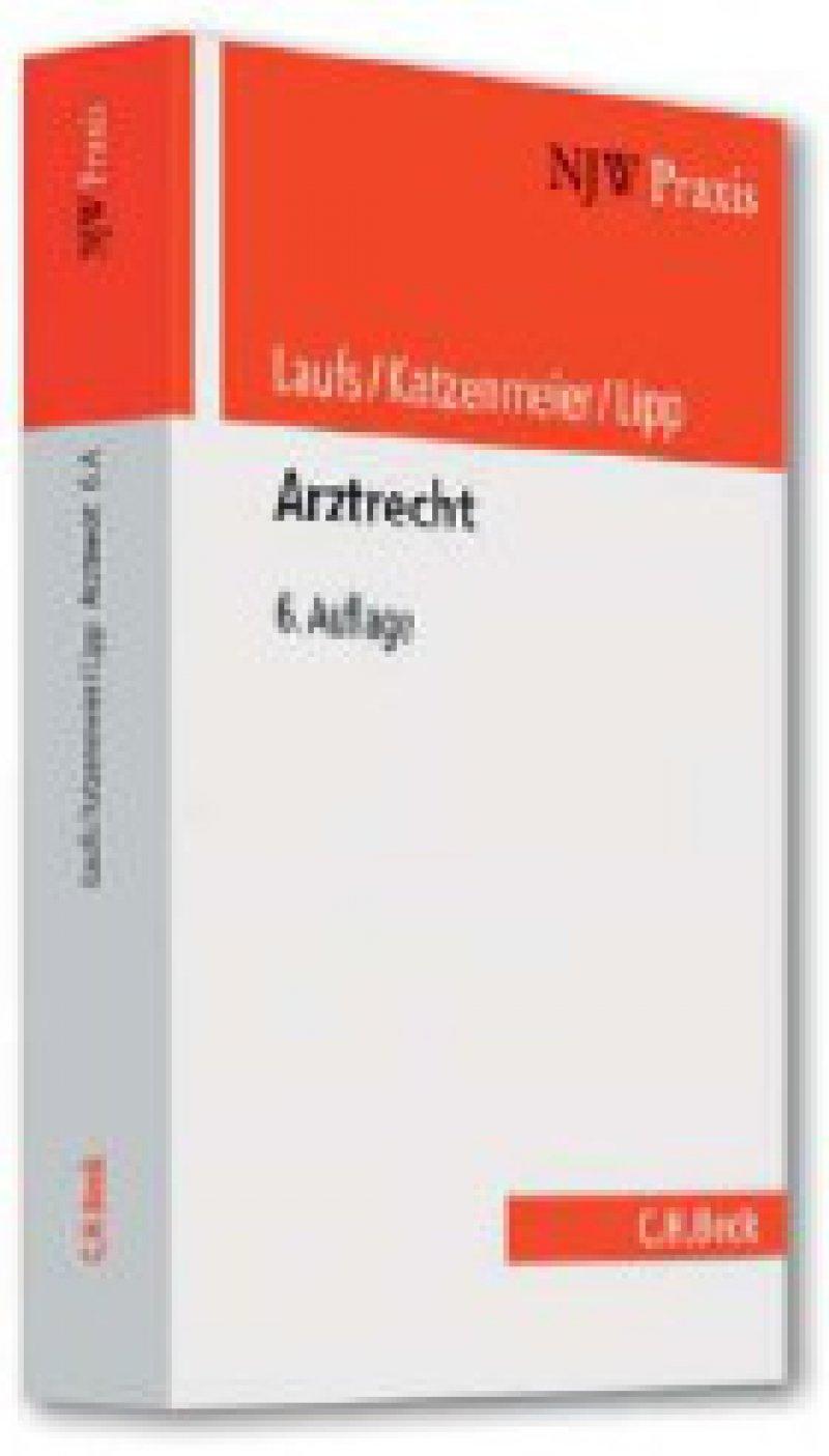 Adolf Laufs, Christian Katzenmeier, Volker Lipp: Arztrecht. 6. Auflage. NJW Praxis Band 29. C. H. Beck, München 2009, 531 Seiten, kartoniert, 58 Euro