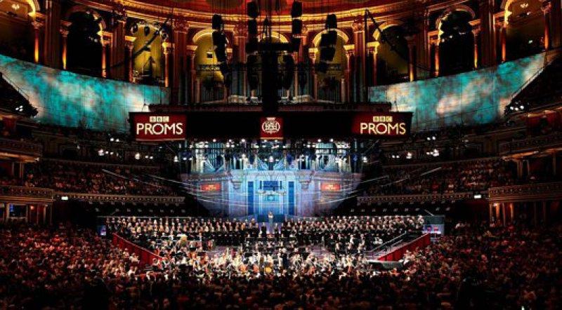 """""""Hier läuft ja von Rock, Pop bis Klassik, Ballett und Tennis alles"""": Die Royal Albert Hall wurde im Jahr 1871 eröffnet, damals mit miserabler Akustik."""