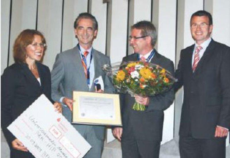 Petra Koruhn, Rainer Riedel, Franz Metzger und Ulrich Fell (von links) Foto: privat